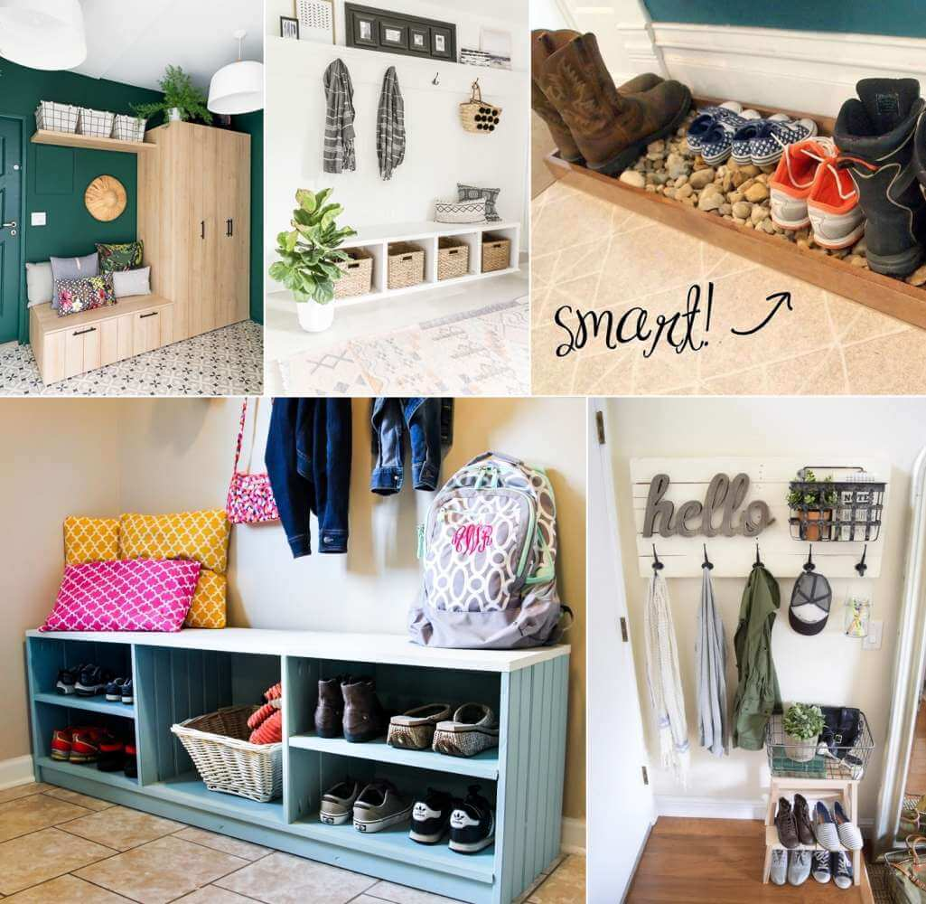 Clever Entryway Storage Ideas