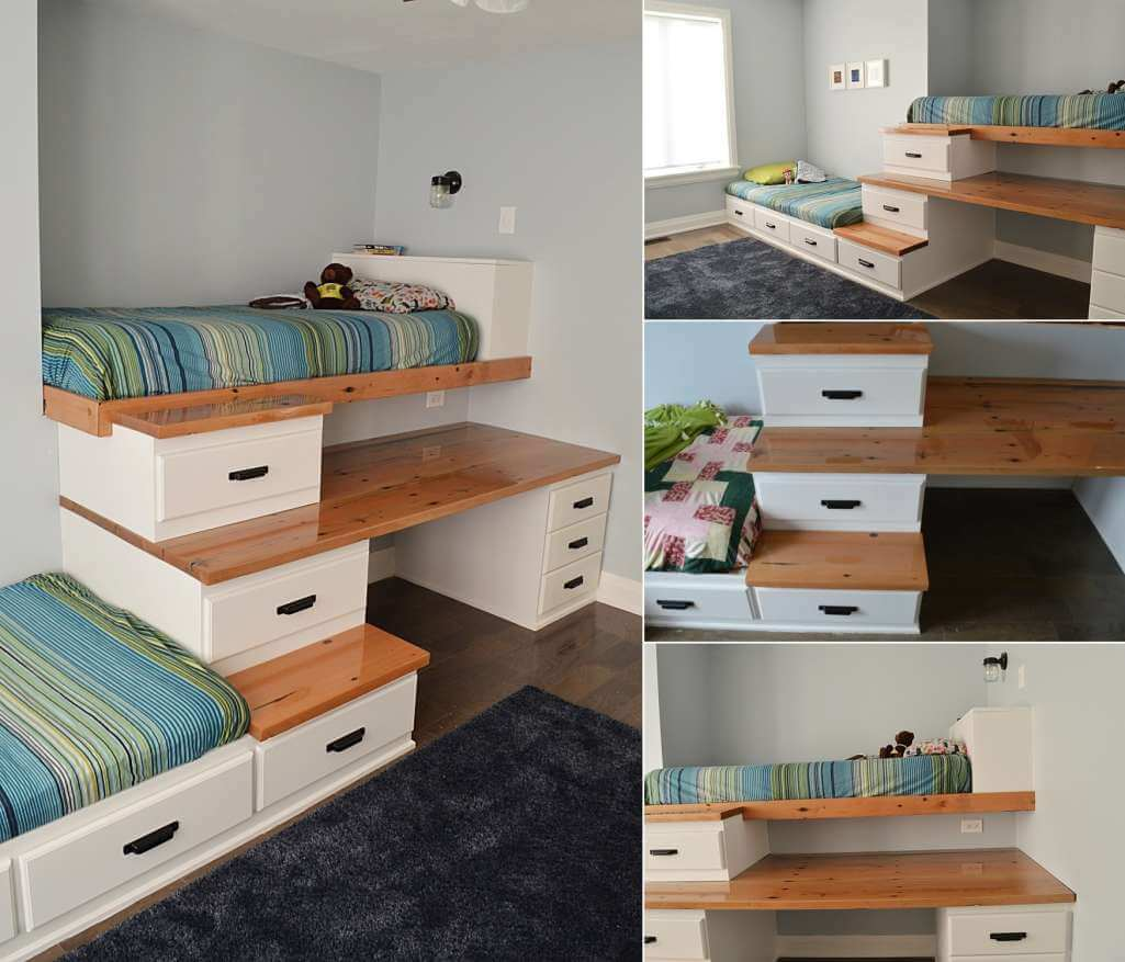 Clever Storage Bed Designs