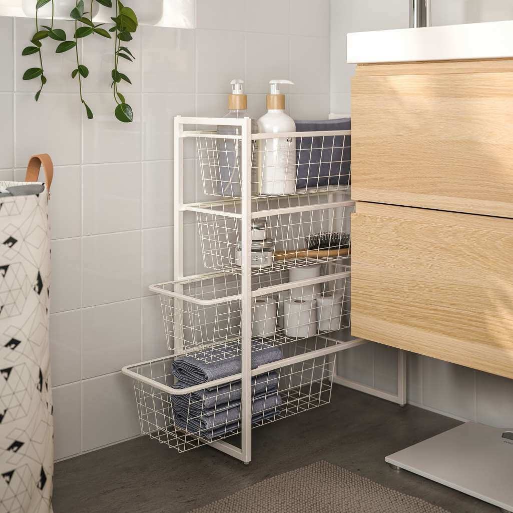 Ways to Use Wire Baskets for Home Storage