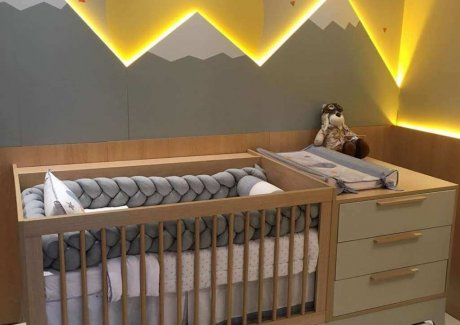Wall Texture Ideas for Kids and Baby Room