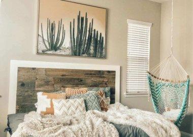 Rustic Bedroom Updates