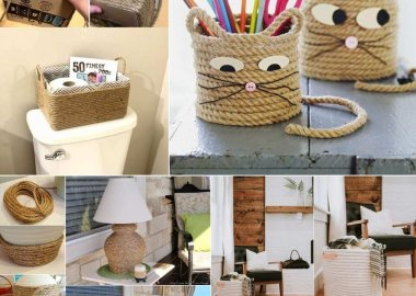 DIY Rope Crafts and Projects
