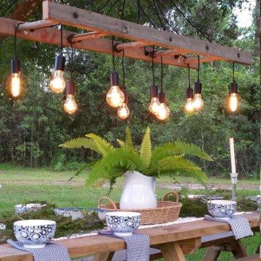 diy rustic chandeliers