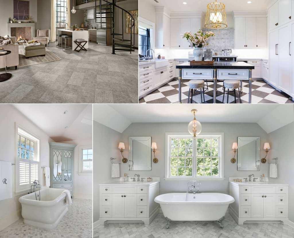 marble floor ideas