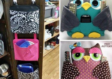 DIY Fabric Organizer Ideas