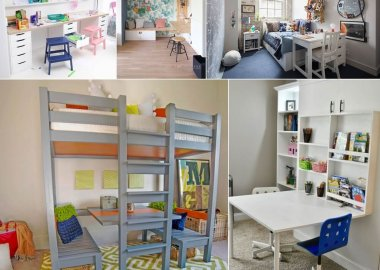 Fun Kids Homework Station Ideas