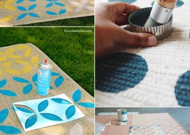 DIY Rug Makeover Ideas