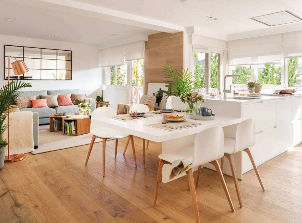 Open Plan Dining Room Ideas