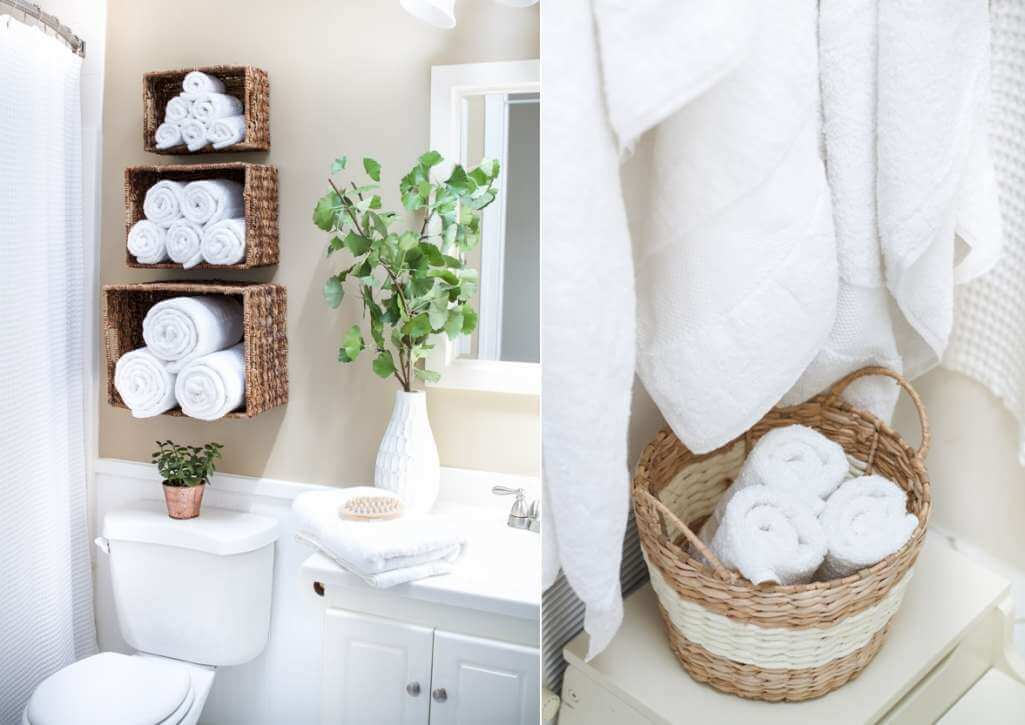 Towel Storage Ideas For Small Bathrooms