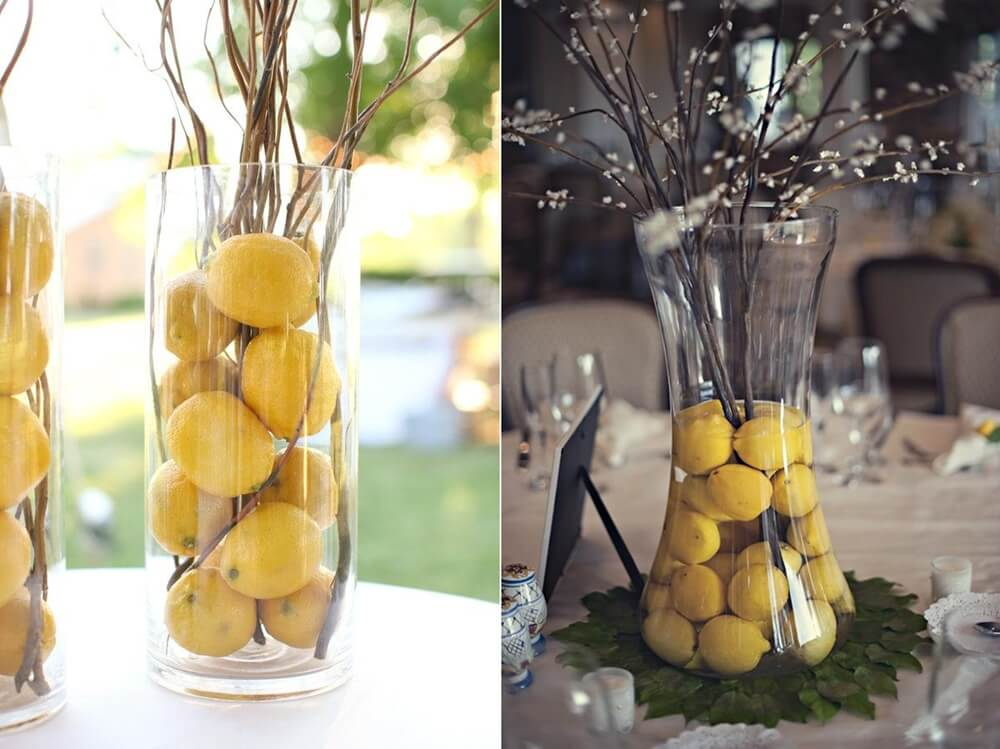 Citrus Centrepiece Ideas