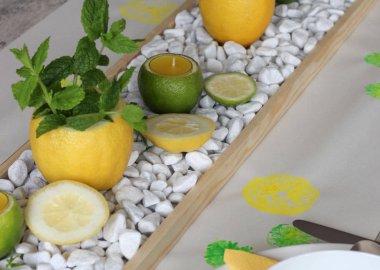 Citrus Centrepiece Ideas