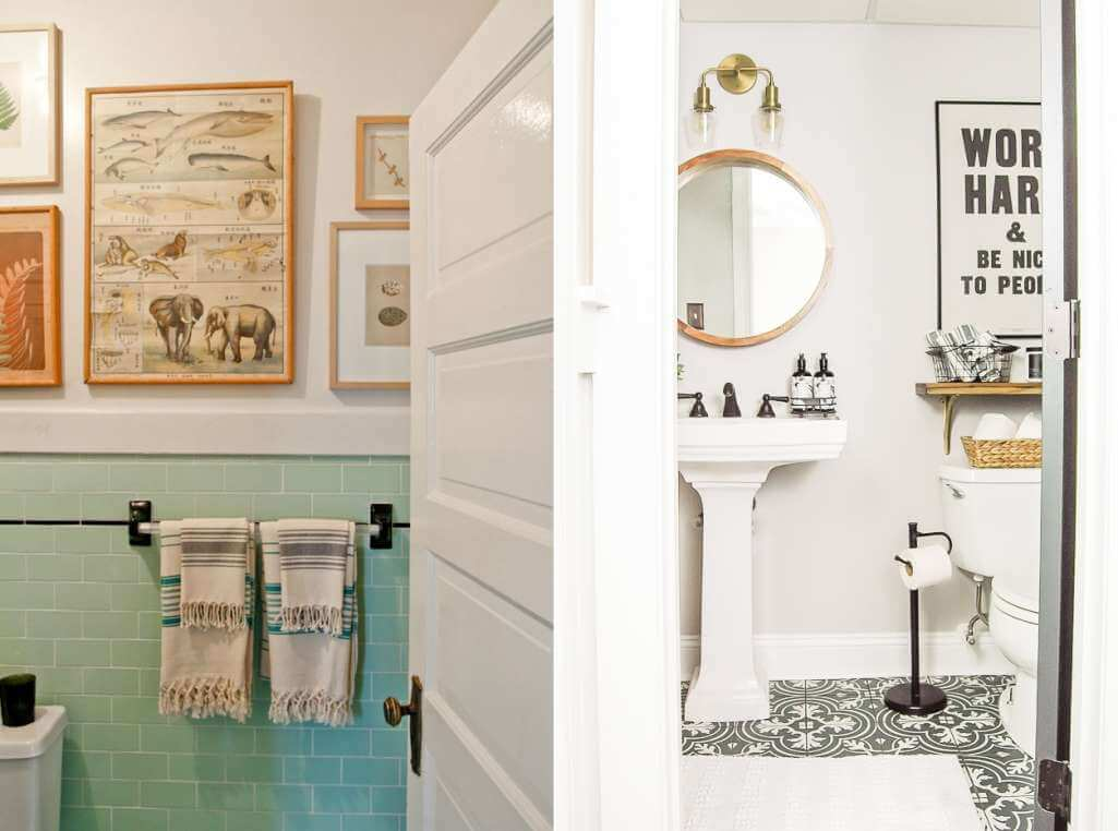 Vintage Bathroom Decor Ideas