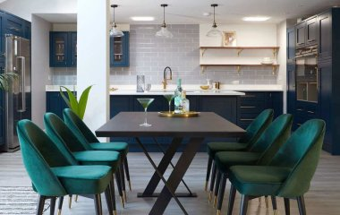 Ideas to Decorate with Green Velvet