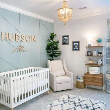 Pastel nursery decor