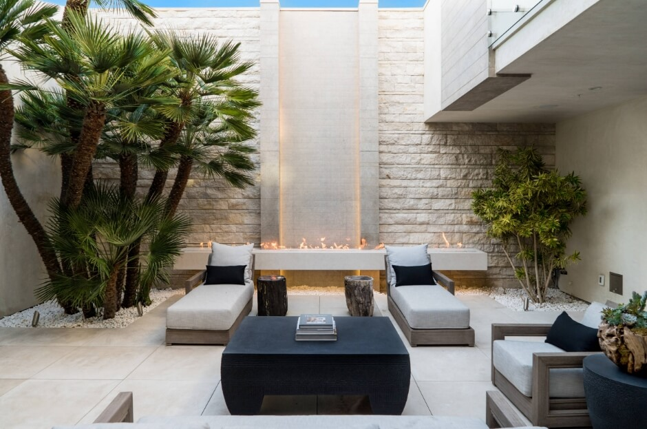 Courtyard Patio Ideas