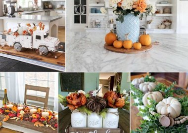 Fall Centrepiece Ideas