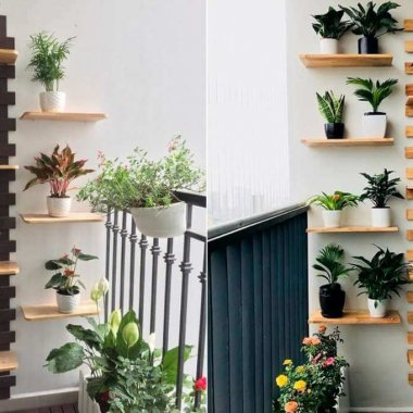 balcony shelves