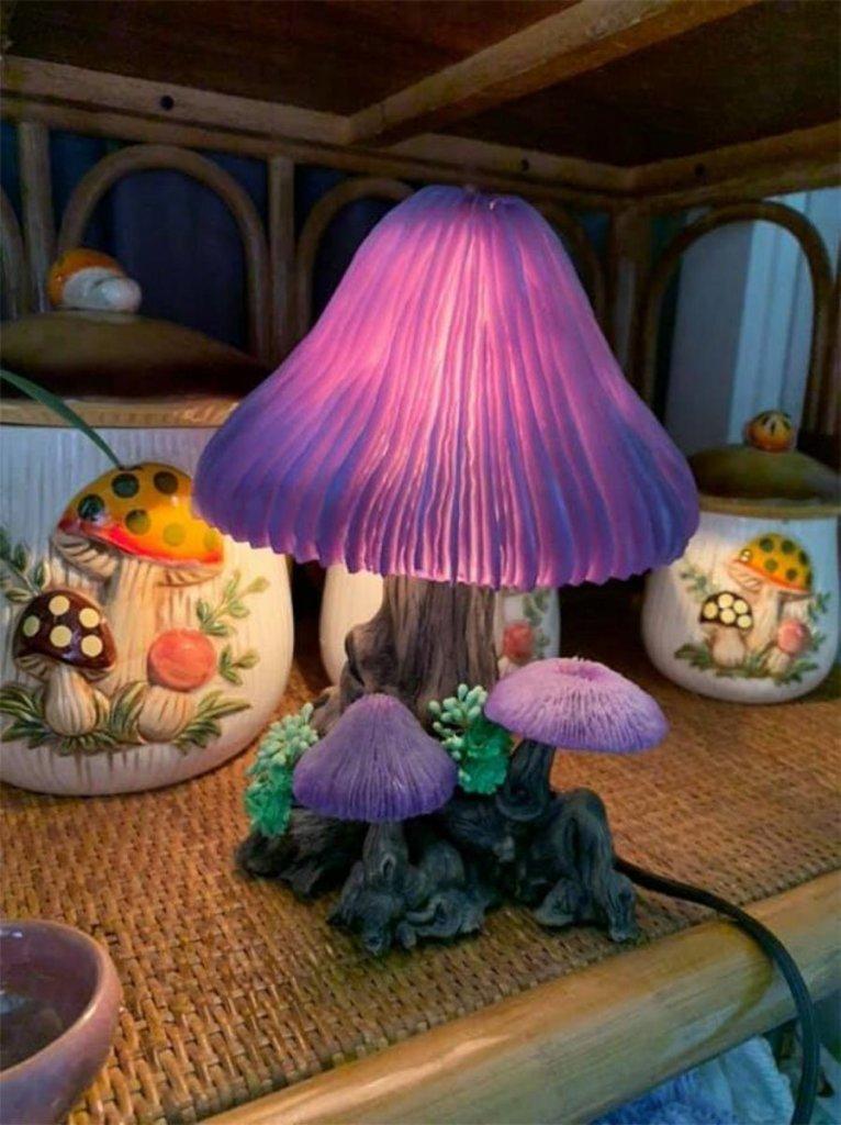 mushroom home decor