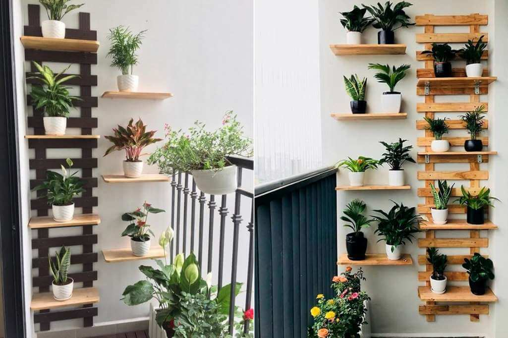 balcony shelves
