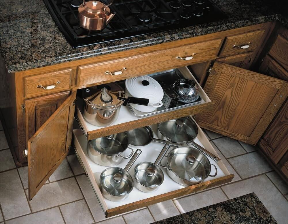 Organize Your Home with Shallow Drawers