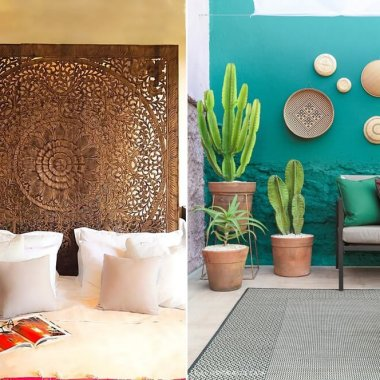 bohemian wall decor