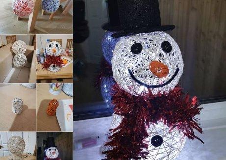 diy snowman projects