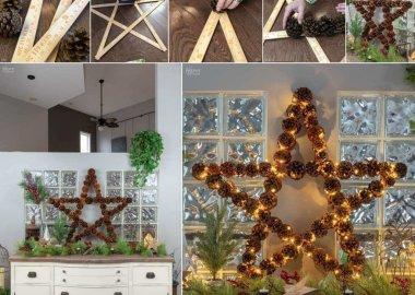pinecone christmas decor