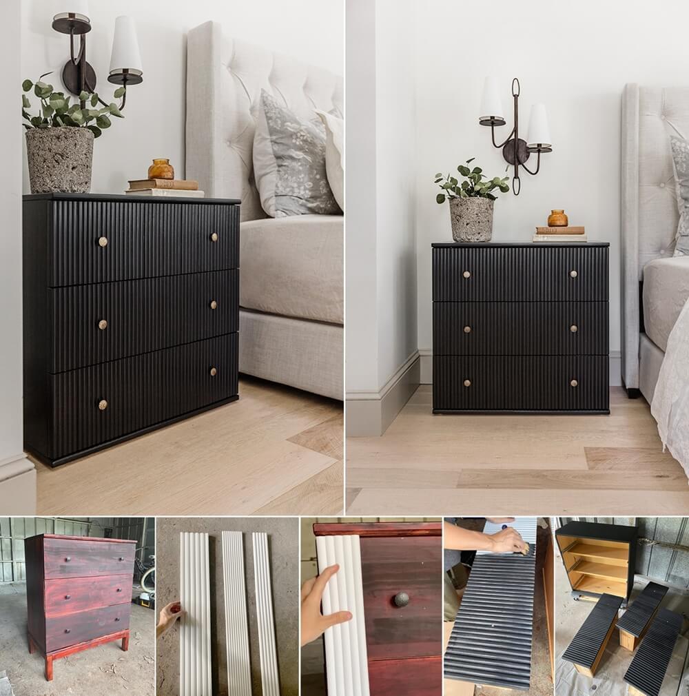DIY Fluted Furniture Ideas