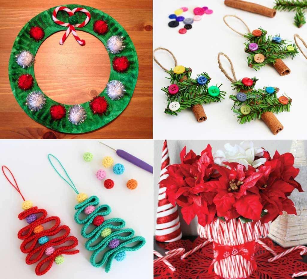 last minute christmas crafts