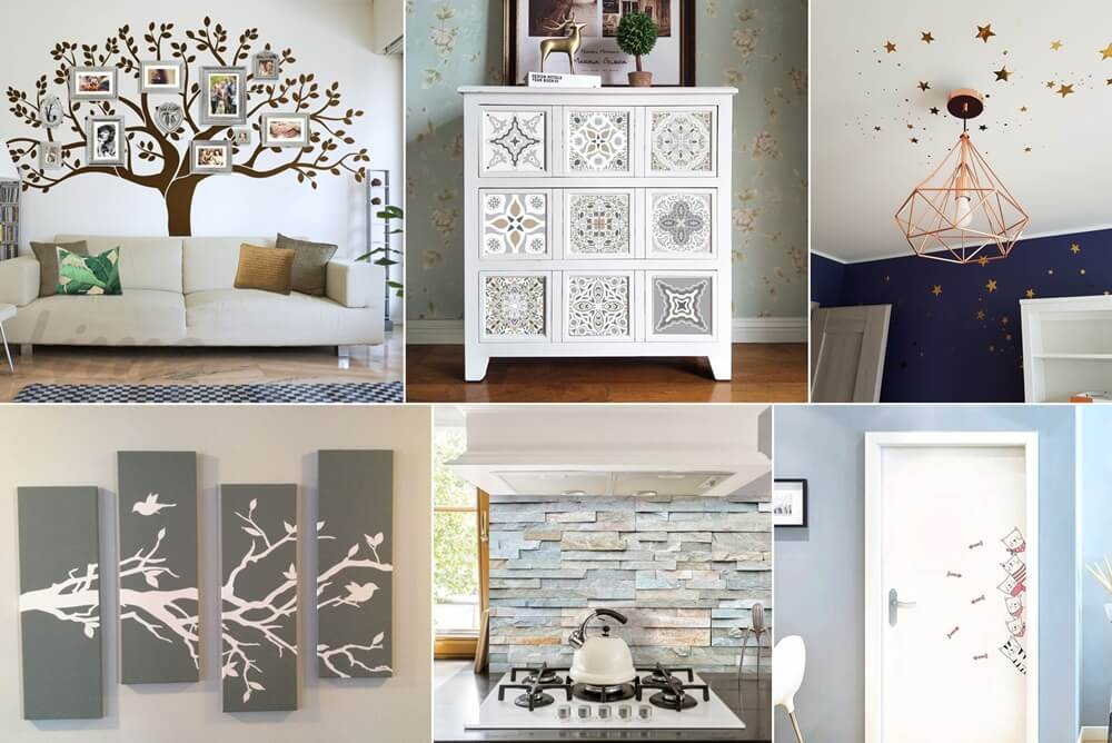 Ideas to Decorate with Decals