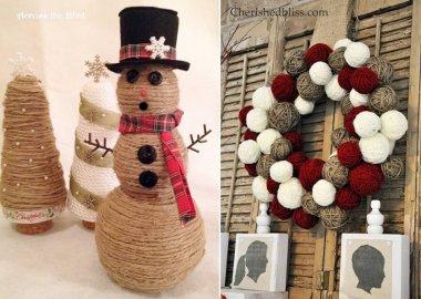 twine christmas crafts