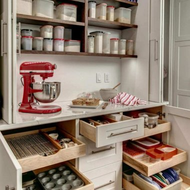 baking station organization