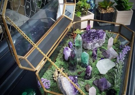 Crystal Garden Ideas