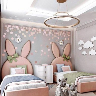 bunny kids room decor ideas