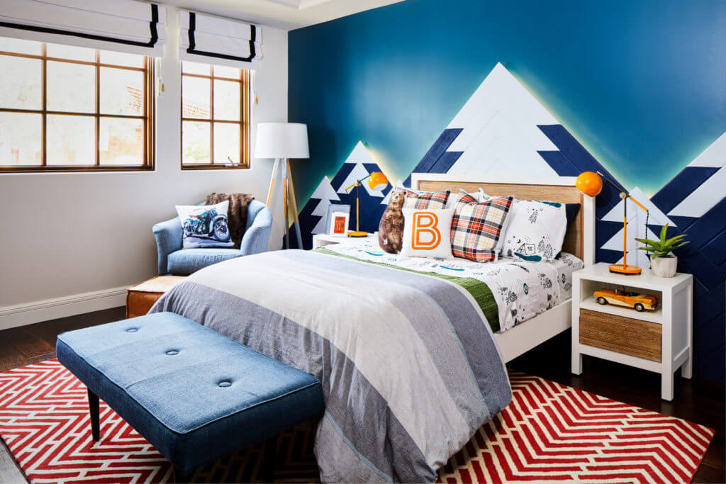 Mountain Themed Kids Room Decor Ideas