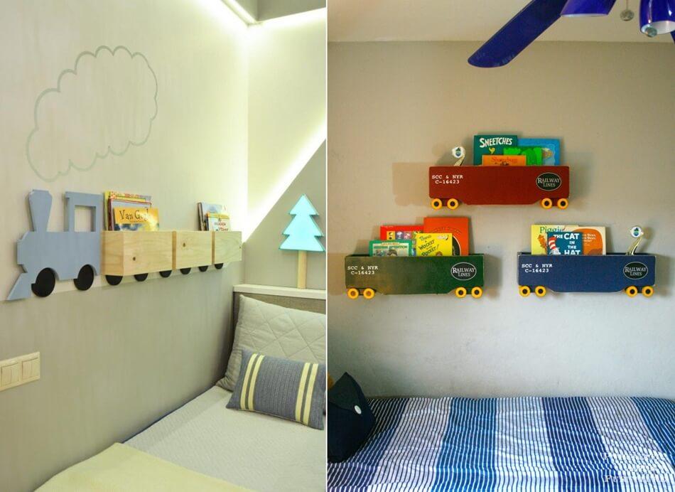 Cute Kids Bookcase Designs