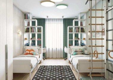 shared kids room storage ideas