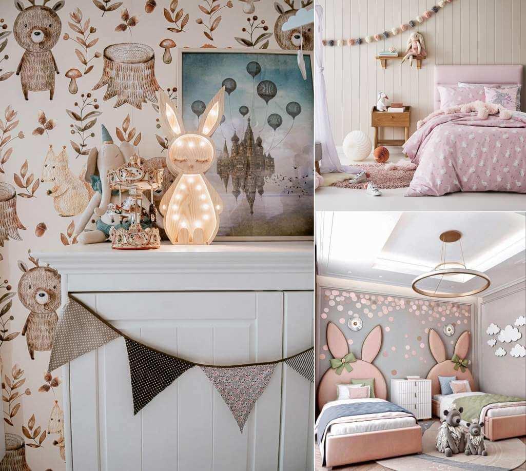 bunny kids room decor ideas