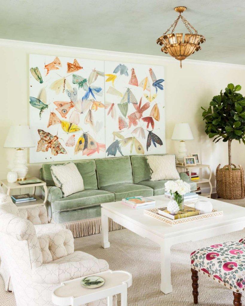 Spring Living Room Decorating Ideas