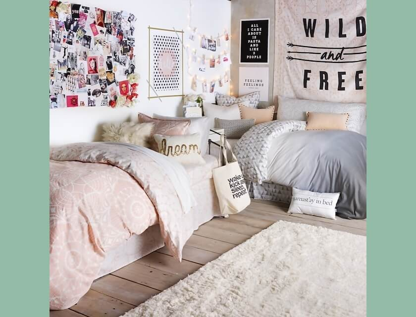 Twin Bedroom Ideas for Small Rooms