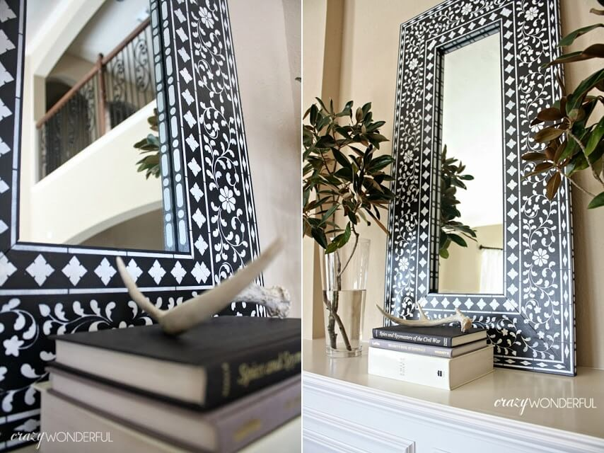 DIY Mirror Decor Ideas
