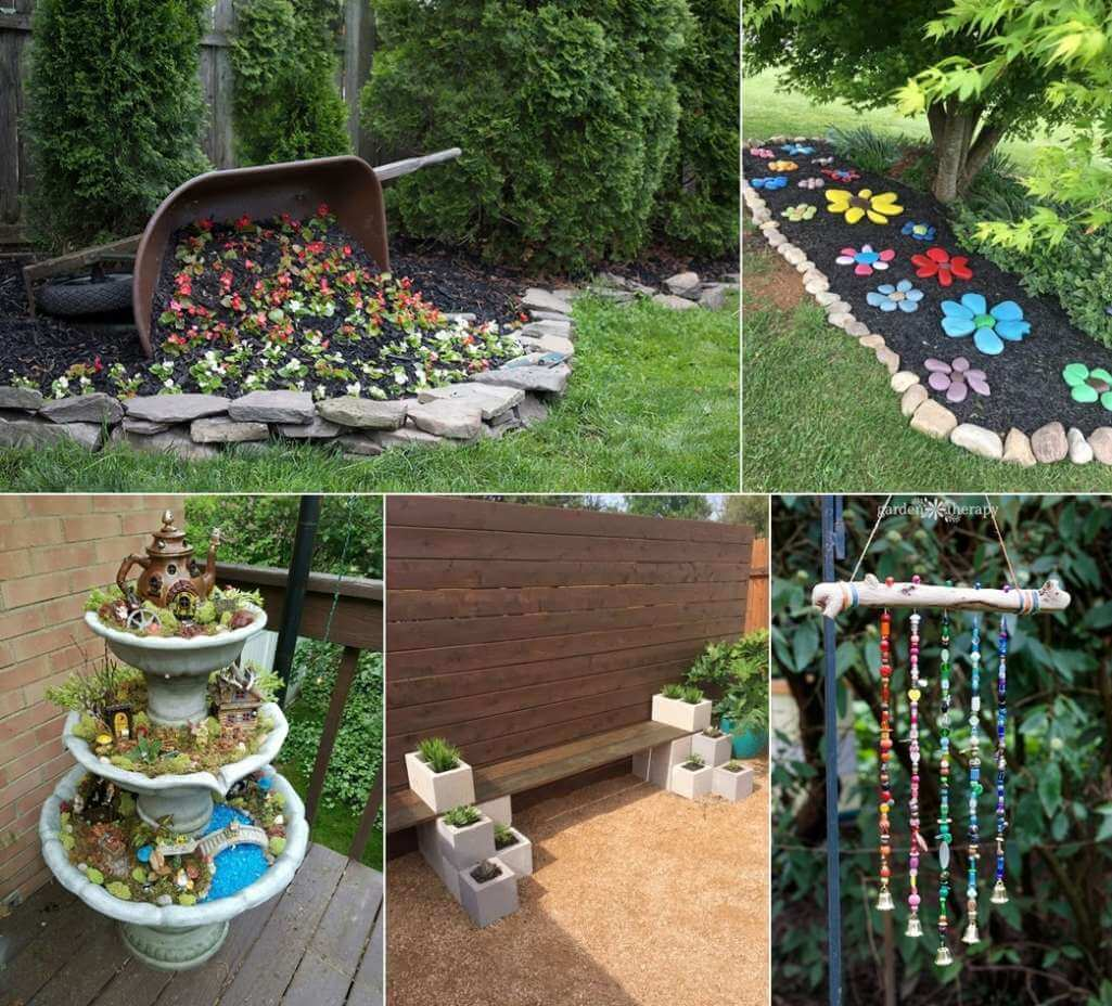 diy spring garden decor