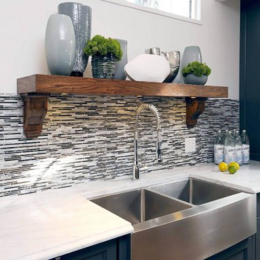 Decor Ideas Around The Kitchen Sink