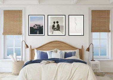home decor with art prints