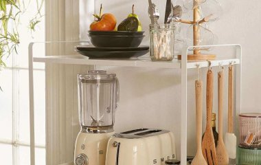 declutter a small kitchen