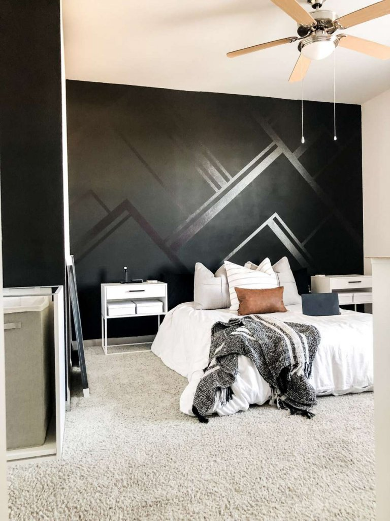 Hand Painted Bedroom Wall Ideas