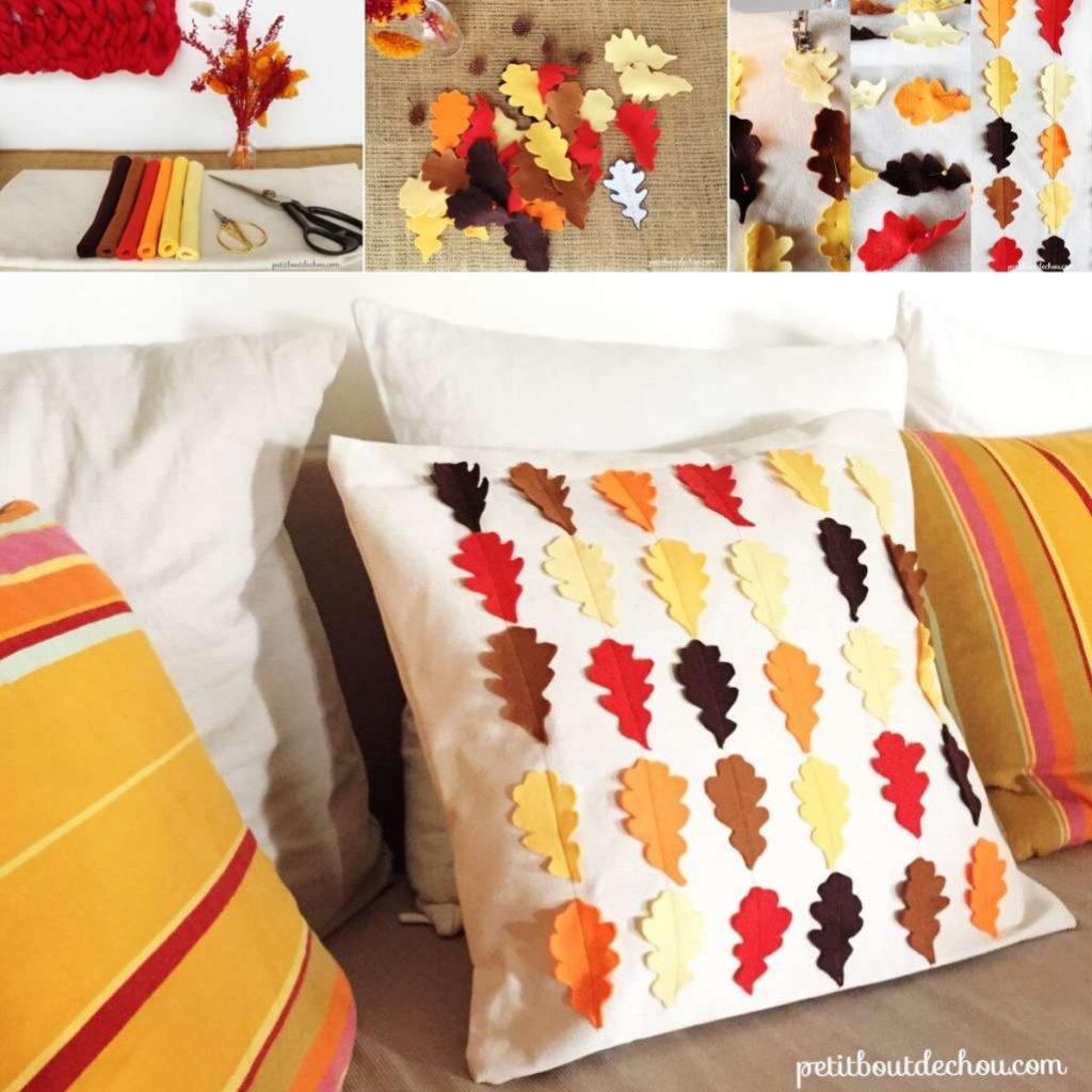 Cute DIY Cushion Covers