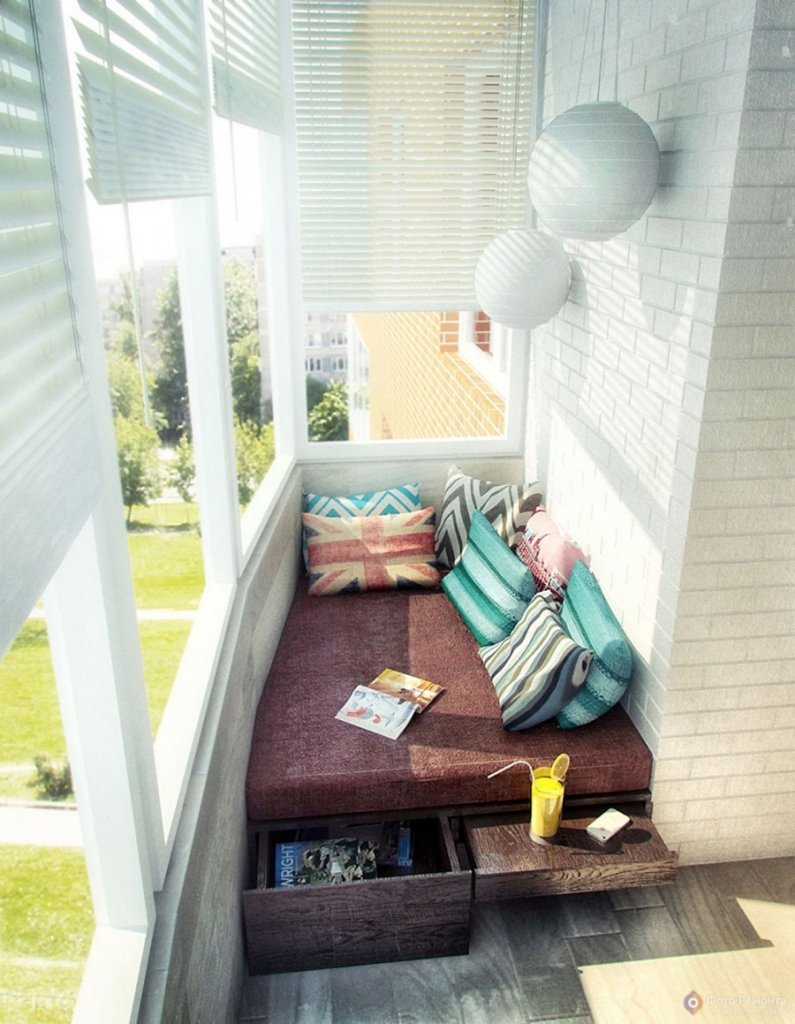 Enclosed Balcony Decor Ideas