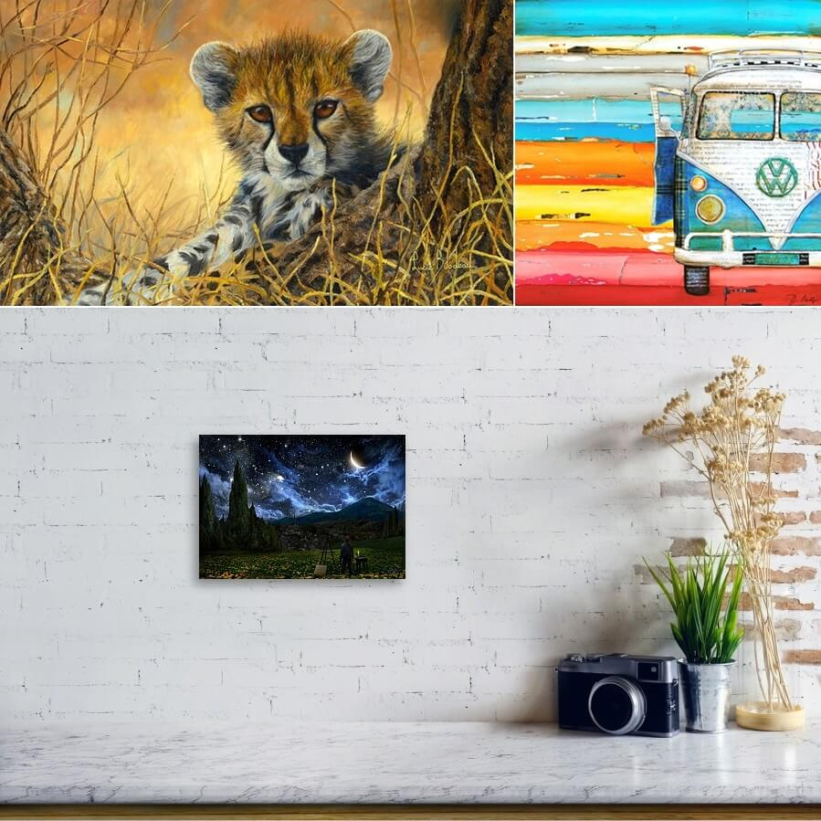 Home Decor with Art Prints