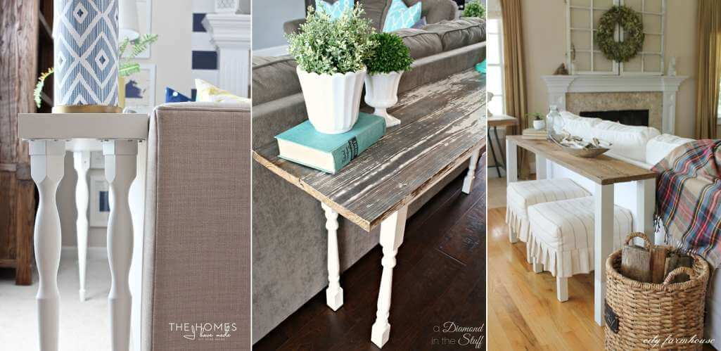 Sofa Table Designs